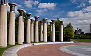 Bell Towers at the Tennessee Bicentennial Mall in Nashville, Tennessee